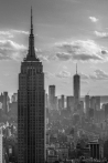 Empire State building looking at 1WTC
