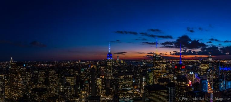 NYC Night Sky